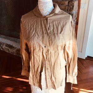 NEW linen vintage top
